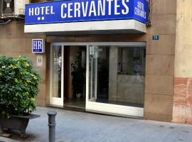 Hotel Cervantes, hotel Alicantéban