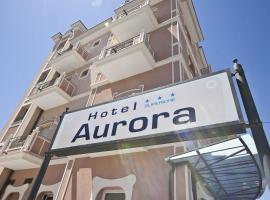 Hotel Aurora, отель в Римини