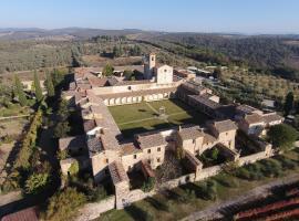 Certosa di Pontignano Residenza d'Epoca, отель в городе Ponte A Bozzone