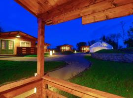 Giltraps Townhouse & Glamping, glamping a Kinnitty