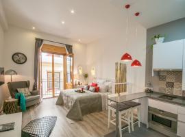 Tafari Sol, apartment in Madrid