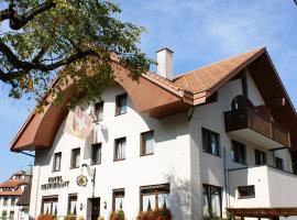 Hotel & Restaurant Sonne, hotel near Rope Park Gantrisch, Schwarzenburg