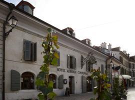 Auberge Communale de Carouge, hôtel à Genève