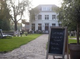 Viesnīca Boutique B&B Villa Heidetuin pilsētā Bergena pie Zomas, netālu no apskates objekta Bellevue Cafe