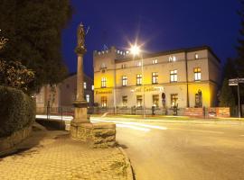 Hotel Castle, hotel near the Holy Virgin Mary's Assumption church, Bystrzyca Kłodzka