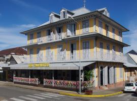 Hôtel des Palmistes, hotel in Cayenne