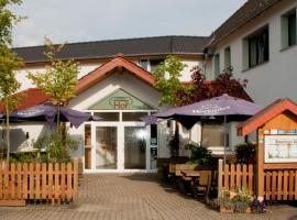 Gasthaus Bonneberger Hof, отель в городе Флото