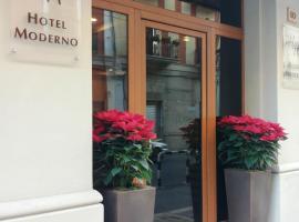 Hotel Moderno, отель в Бари