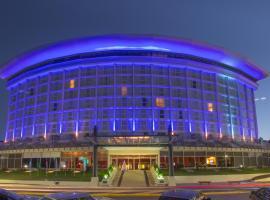Howard Johnson Plaza Resort & Casino Mayorazgo, hotel in Paraná