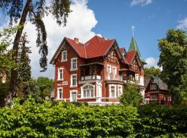 Villa Neptun, отель в Херингсдорфе
