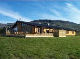 Eyjar Fishing Lodge, golf hotel in Breiðdalsvík
