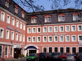 City Partner Hotel Strauss, отель в Вюрцбурге