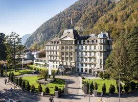 Lindner Grand Hotel Beau Rivage, hotel in Interlaken