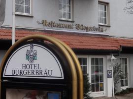 Hotel Bürgerbräu, hotel in Osnabrück