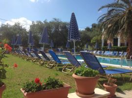 Perros Hotel, hotel near Theotokos Monastery, Agios Stefanos