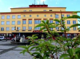 Hotel Akord, отель в Остраве