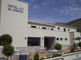 Hotel Restaurante El Corte, hotel cerca de Parque Natural de los Montes de Málaga, Casabermeja