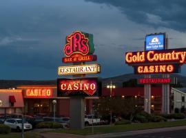 Americas Best Value Gold Country Inn & Casino, hotel in Elko