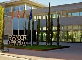 Parador de Alcalá de Henares, hotel con piscina en Alcalá de Henares