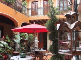 Hotel Boutique Parador San Miguel Oaxaca, hotel in Oaxaca City