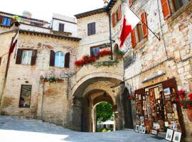 Hotel Trattoria Pallotta, hotel in Assisi