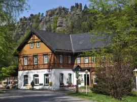 Hotel Gondelfahrt, Hotel in der Nähe von: Rübezahl Ski Lift, Kurort Jonsdorf