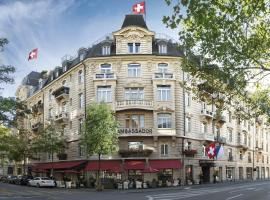 Small Luxury Hotel Ambassador Zurich, hotel in Zurich