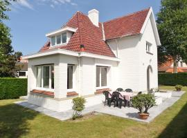 Villa Grillons, pet-friendly hotel in Koksijde