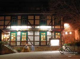 Hotel Zum Klosterfischer, hotel a Blankenburg