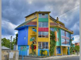 The Colourful Mansion Hotel, hotel in Ahtopol