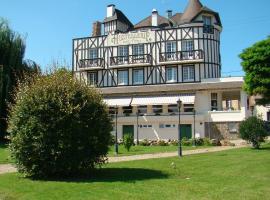 Logis Hostellerie Saint Pierre, hotel en Saint-Pierre-du-Vauvray