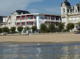 Hotel Le Trident Thyrsé, hôtel à Royan