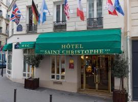 Hotel Saint Christophe, hotel near Censier-Daubenton Metro Station, Paris