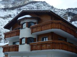 Apartment Theresli First Floor, hotel in Saas-Almagell