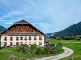 Plombergbauer, apartment in Sankt Gilgen