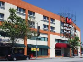 Metro Plaza Hotel, hotel in Downtown Los Angeles, Los Angeles