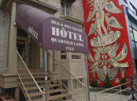 Hotel Quartier Latin, hotel near University of Quebec in Montreal UQAM, Montreal