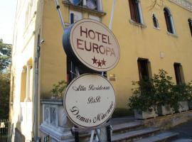 Hotel Europa, hotel a Perugia