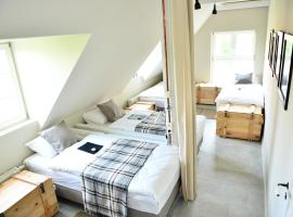 Five Point Hostel & Apartments, boutique hotel in Gdańsk