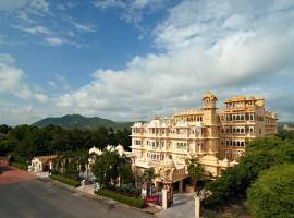 Chunda Palace, hotel near Sajjangarh Fort, Udaipur