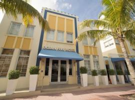 Ocean Five Hotel, hotel em Miami Beach