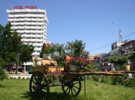 Hotel Decebal, hotel din Bacău