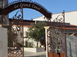 Le Grand Canal, hôtel à Martigues