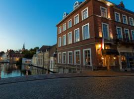 Canalview Hotel Ter Reien, hotel near Sint-Janshuismolen, Bruges