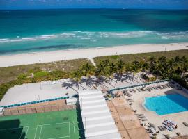 Oceanfront Contemporary Suites, serviced apartment in Miami Beach