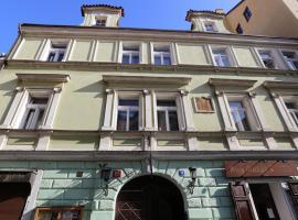 Hotel King George, hotel v Praze
