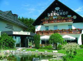 Hotel Berghof, hotel near Mühlenkopfschanze, Willingen