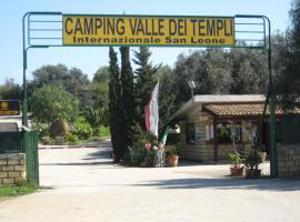 Camping Valle dei Templi, campground in San Leone
