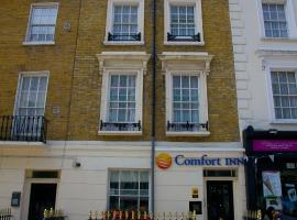 Comfort Inn Victoria, hotel near Buckingham Palace, London