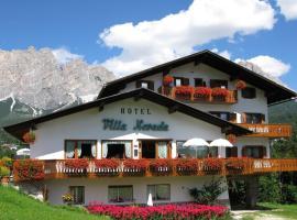 Hotel Villa Nevada, отель в Кортина-д'Ампеццо